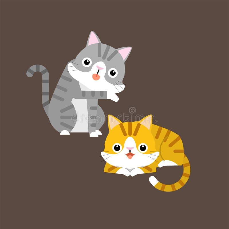 Caratteri Divertenti Degli Animali Illustrazione Di Stock