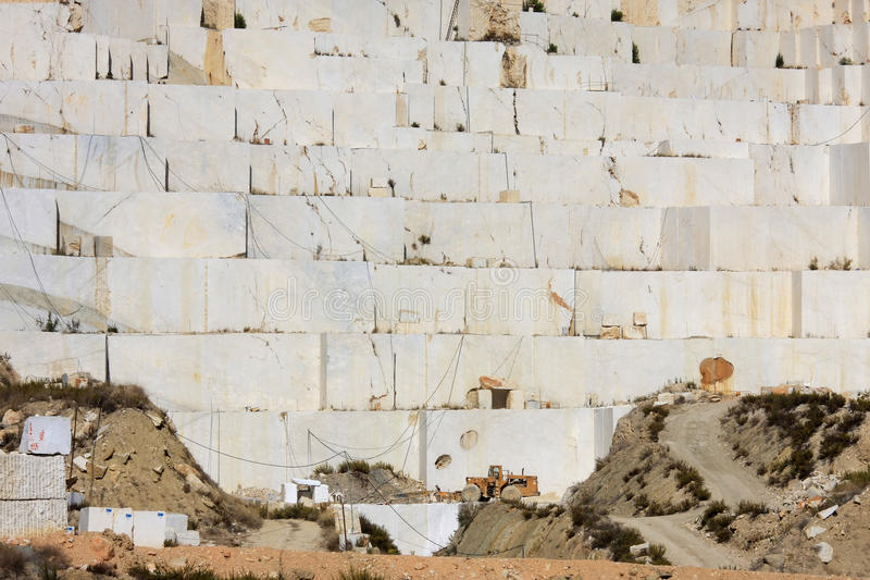 caravaca cruz de在猎物西班牙附近的la marble 库存照片