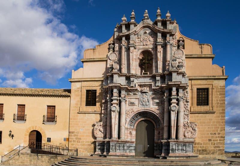 Caravaca De La Cruz Church royalty free stock photos