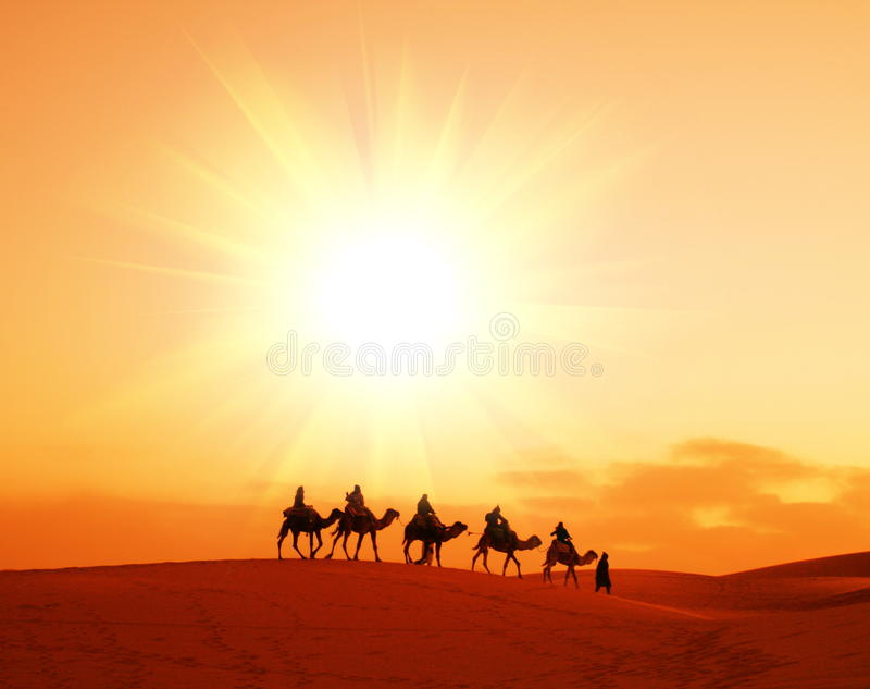 Caravan royalty free stock images