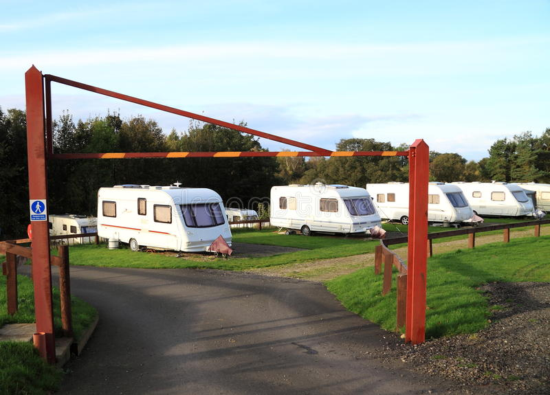 Download Caravan site stock photo. Image of holiday, prevention - 22063046