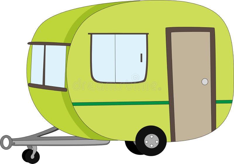 Caravana ilustração do vetor