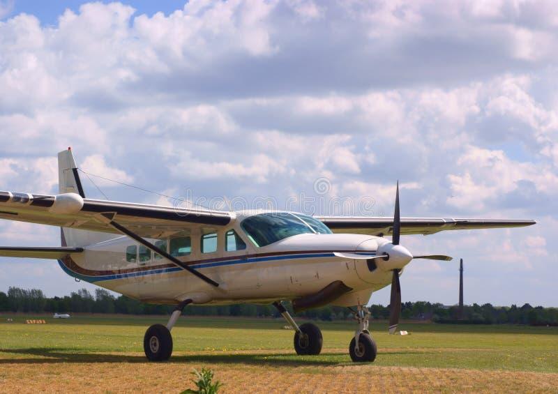 Caravana de Cessna foto de archivo