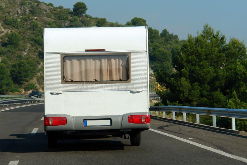 Caravana del coche fotos de archivo libres de regalías