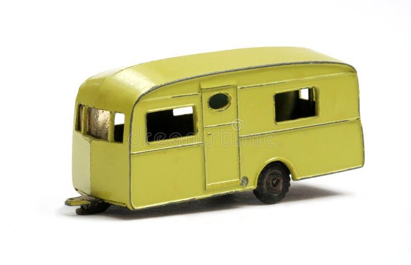Caravana modelo do brinquedo foto de stock royalty free