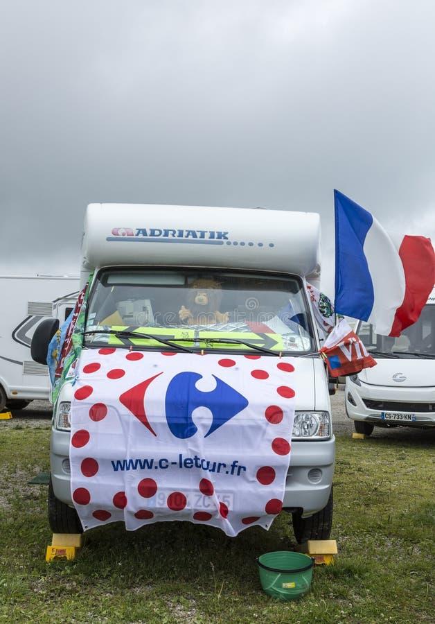 Caravane Décorée - Tour De France 2014 Photo éditorial - Image du ...