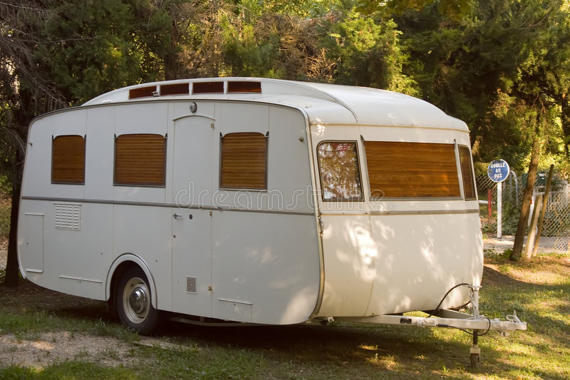 Caravane de remorque photos stock