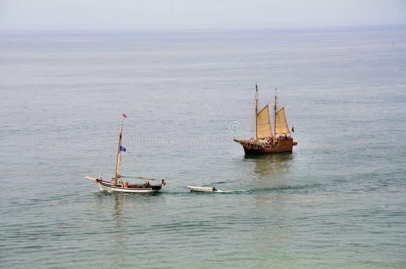 Caravel portugais photos stock