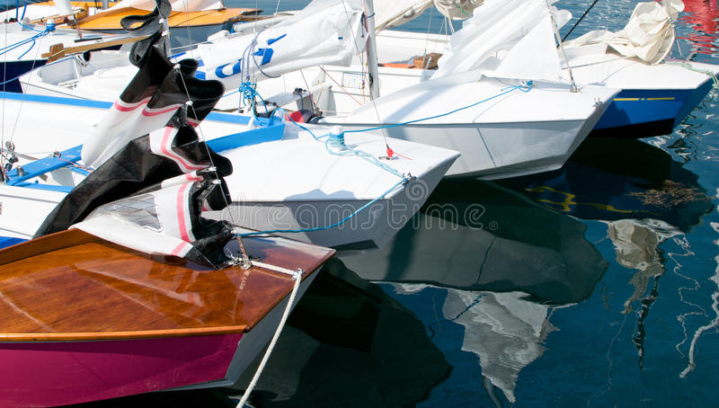 Download Caravelle in a Marina stock photo. Image of rich, wood - 20552678