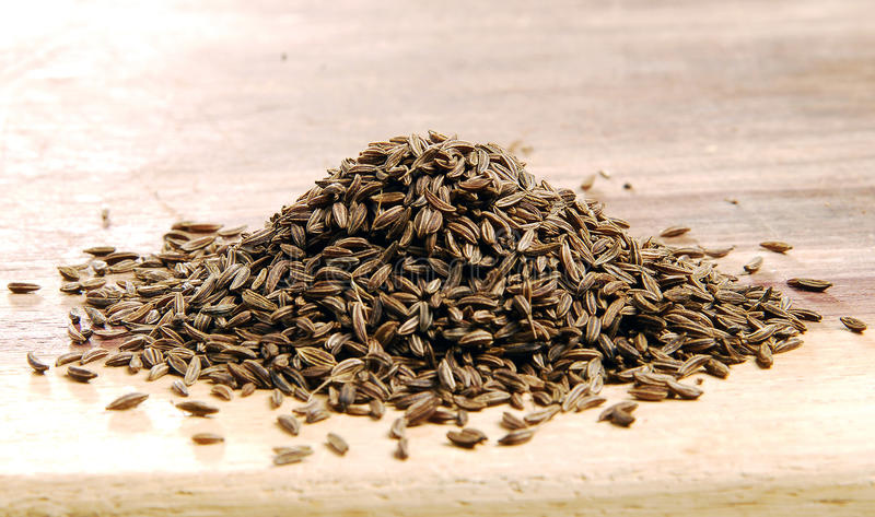 Caraway Seeds Stock Images