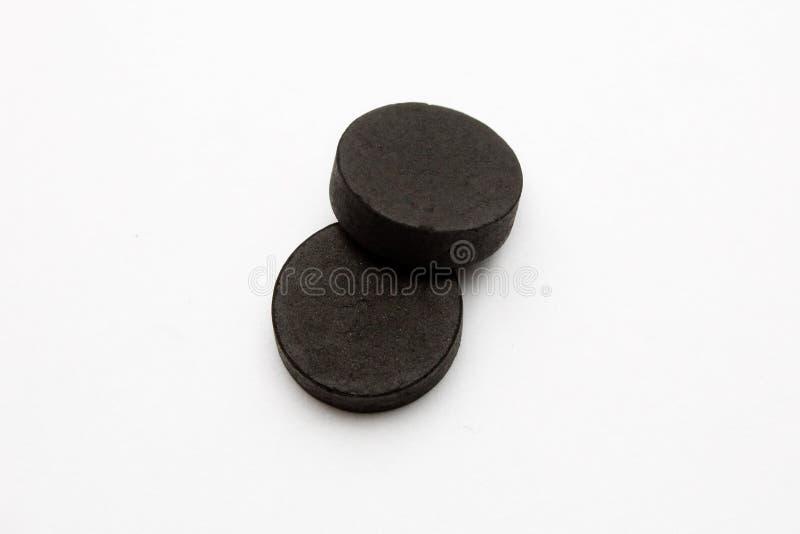 Carbón absorbente fotos de archivo