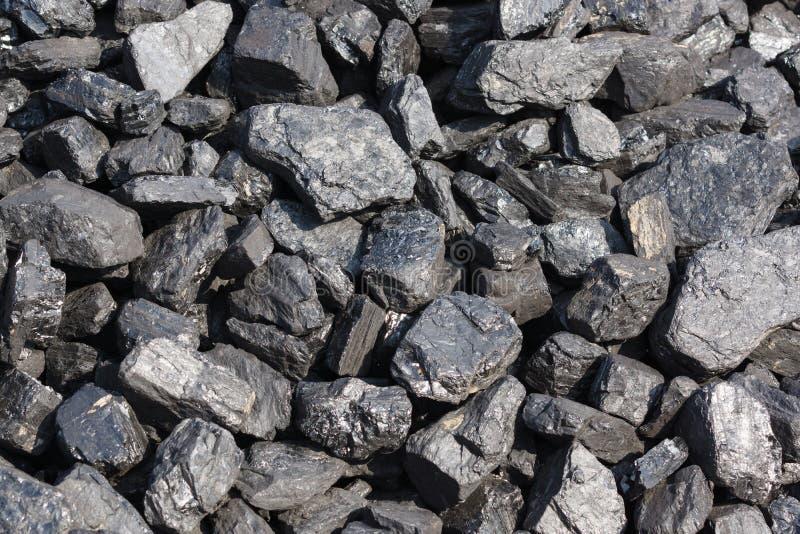Carbón bituminoso fotografía de archivo libre de regalías