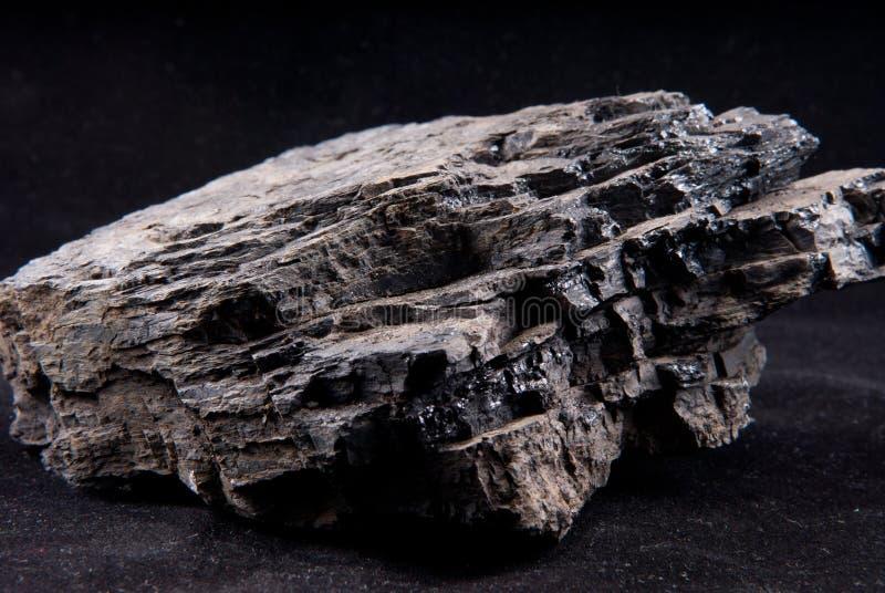 Carbón de antracita imágenes de archivo libres de regalías
