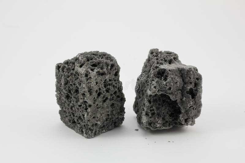 Carbón de la Navidad foto de archivo libre de regalías