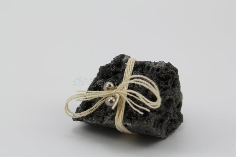 Carbón de la Navidad imagen de archivo