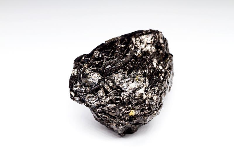 Carbón de piedra en un fondo blanco foto de archivo libre de regalías