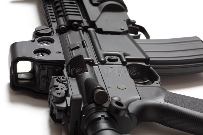Carbine di assalto di spec. Ops M4A1 degli Stati Uniti immagine stock