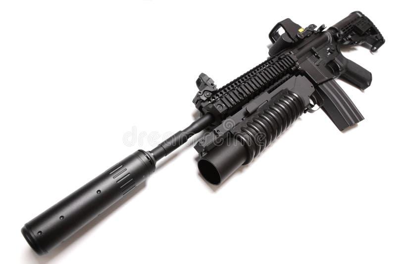 Carbine di assalto di SpecOps M4A1. fotografia stock libera da diritti