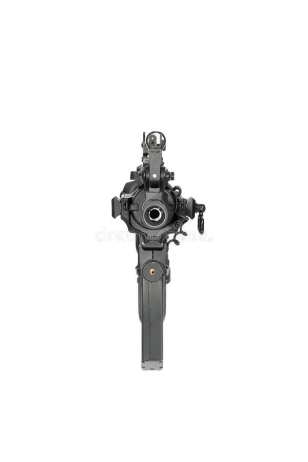 Carbine modificato M4 immagini stock libere da diritti