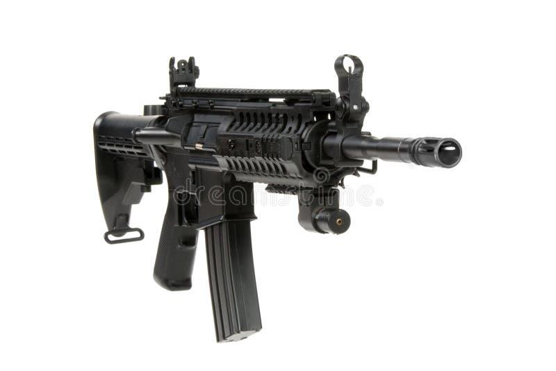 Carbine modificato M4 fotografie stock libere da diritti