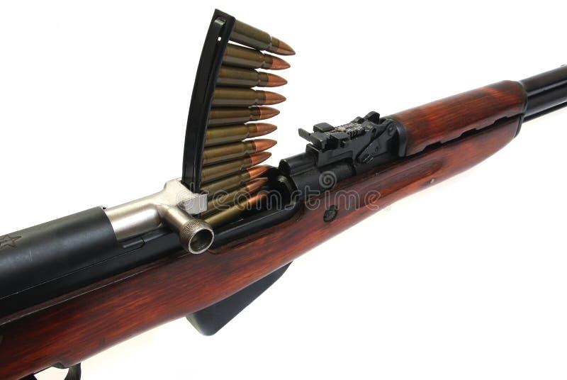 carbine Simonov do Rápido-despedimento imagem de stock