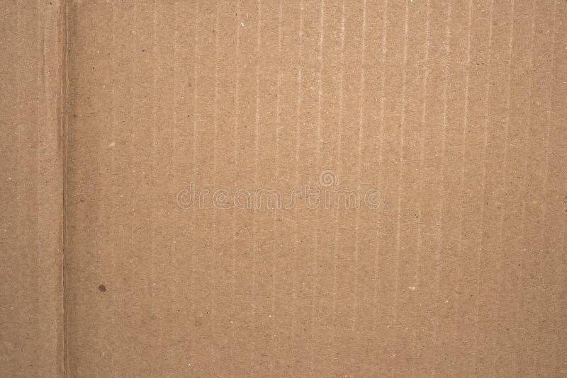 Carboard con el pliegue imagen de archivo