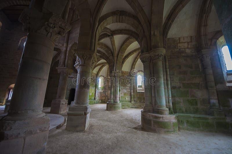 Carboeiro ` s圣劳伦斯的修道院 图库摄影