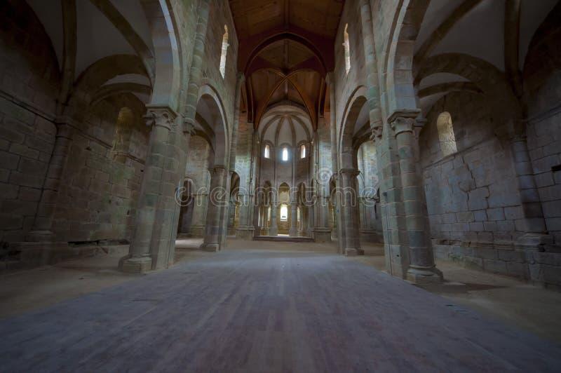 Carboeiro ` s圣劳伦斯的修道院 库存图片