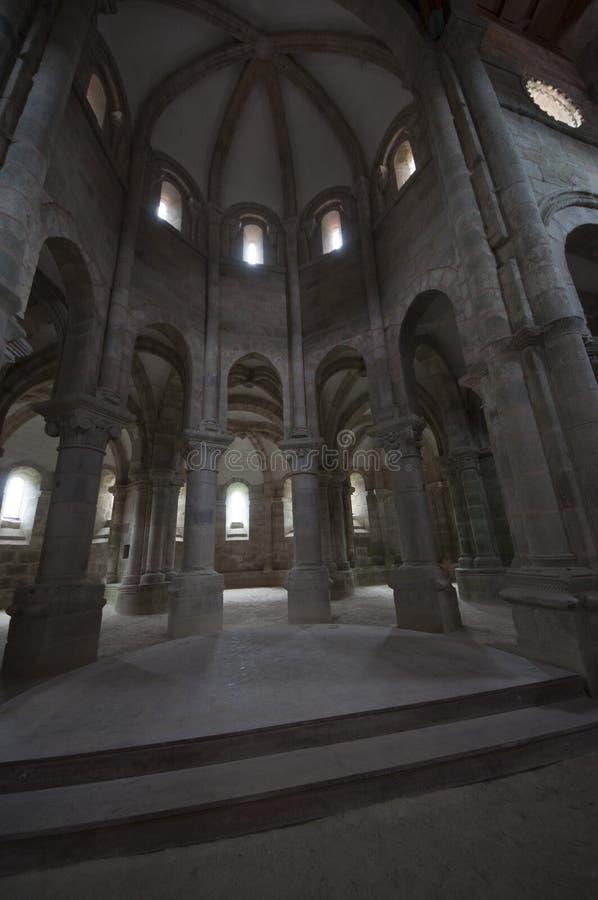Carboeiro ` s圣劳伦斯的修道院 库存照片