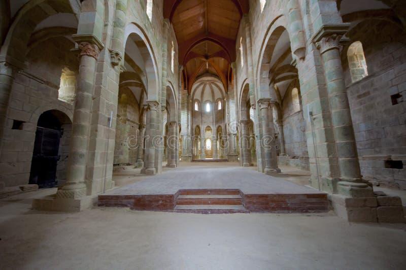 Carboeiro ` s圣劳伦斯的修道院 免版税图库摄影
