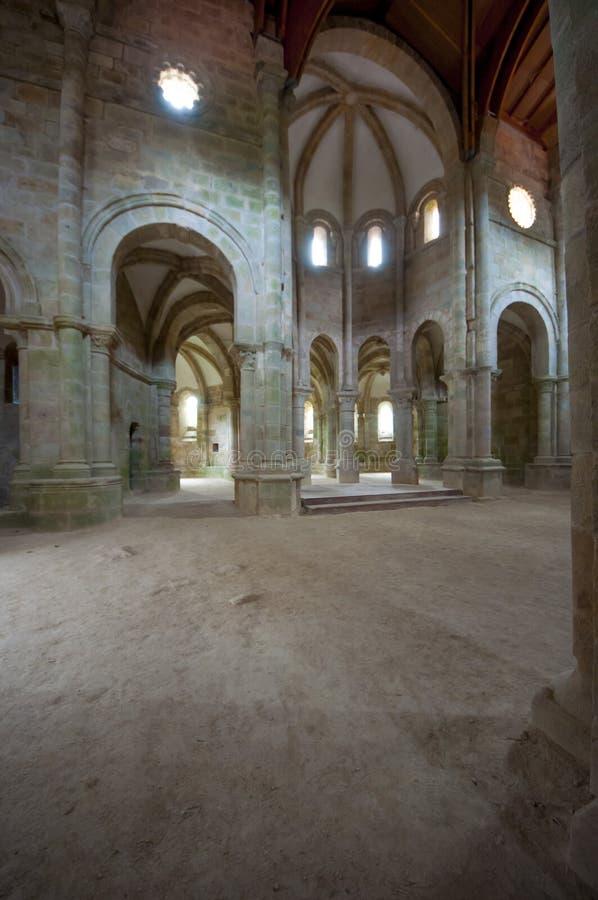 Carboeiro ` s圣劳伦斯的修道院 免版税库存图片