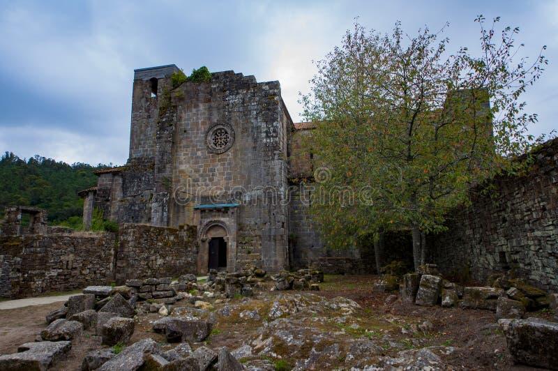 Carboeiro ` s圣劳伦斯的修道院 免版税库存照片