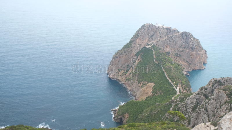 Carbon Cape Bejaïa royalty free stock photos
