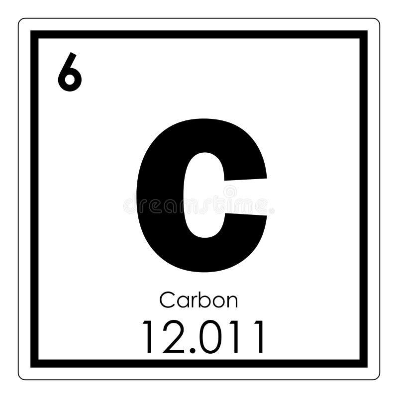 Carbon Chemical Element Stock Illustration Illustration Of Formula