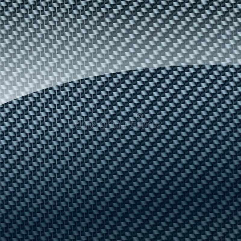 Carbon fiber background vector illustration