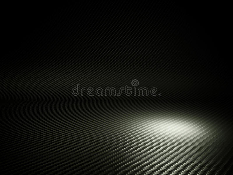 Carbon fiber background vector illustration