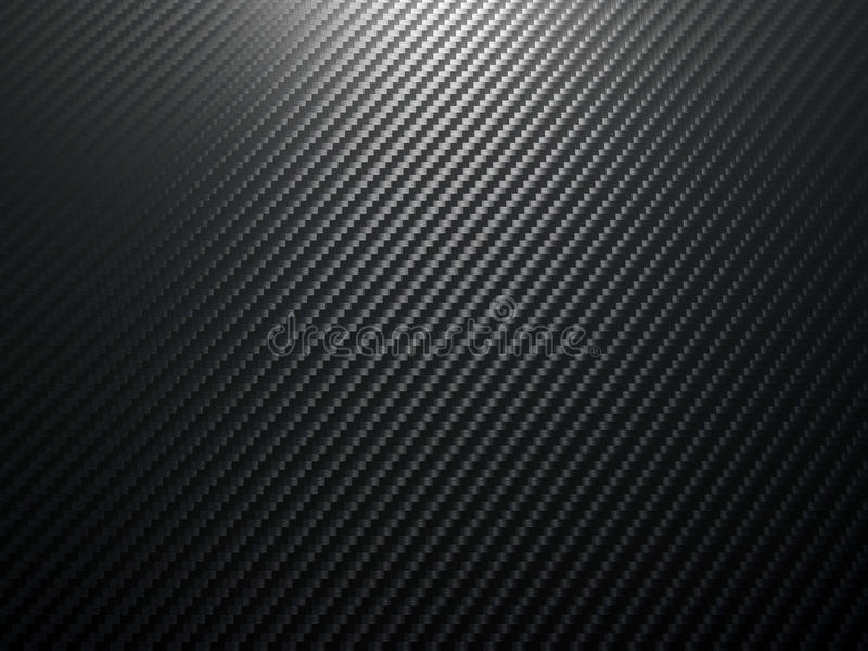 Carbon fiber background royalty free illustration