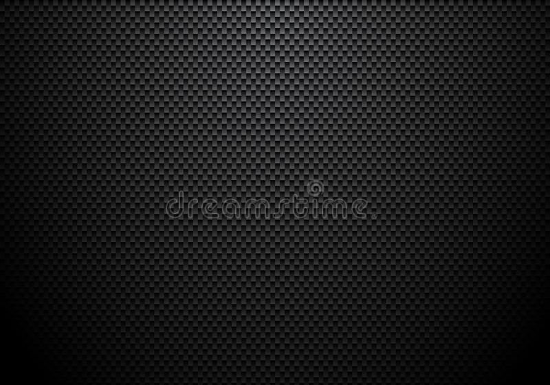 Carbon fiber background and texture with lighting. Material wallpaper for car tuning or service vector illustration
