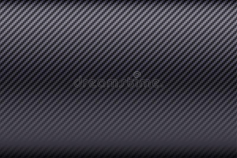 Carbon fiber composite. Bright Carbon fiber composite texture. Wide format. Technology background. Vector illustration vector illustration