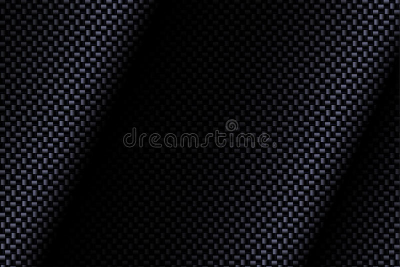 Carbon fiber composite. Texture bending material. Wide format. Technology background. Vector illustration royalty free illustration
