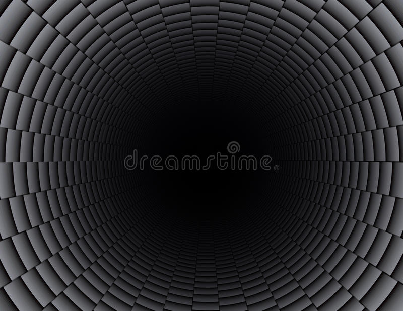 Carbon Fiber Pipe Stock Photography