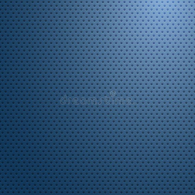 Carbon fiber surface with blue light abstract wallpaper, vector stock illustration