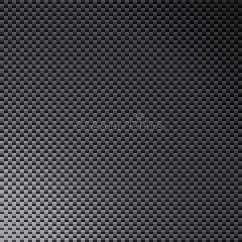 Carbon Fiber Texture stock illustration