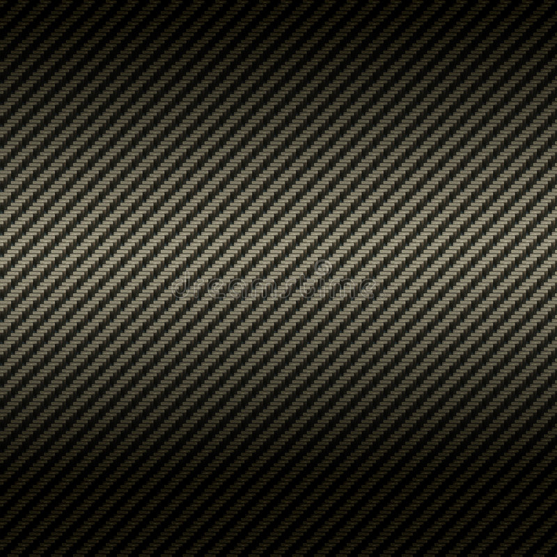 Carbon fiber texture stock illustration