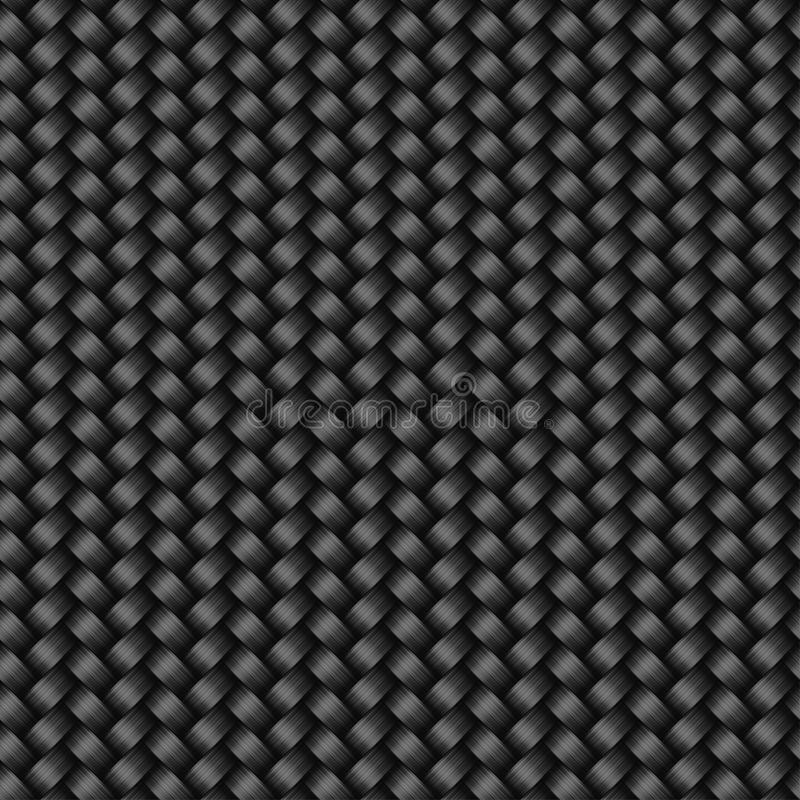 Carbon Fiber Texture Seamless Pattern Stock Vector Image