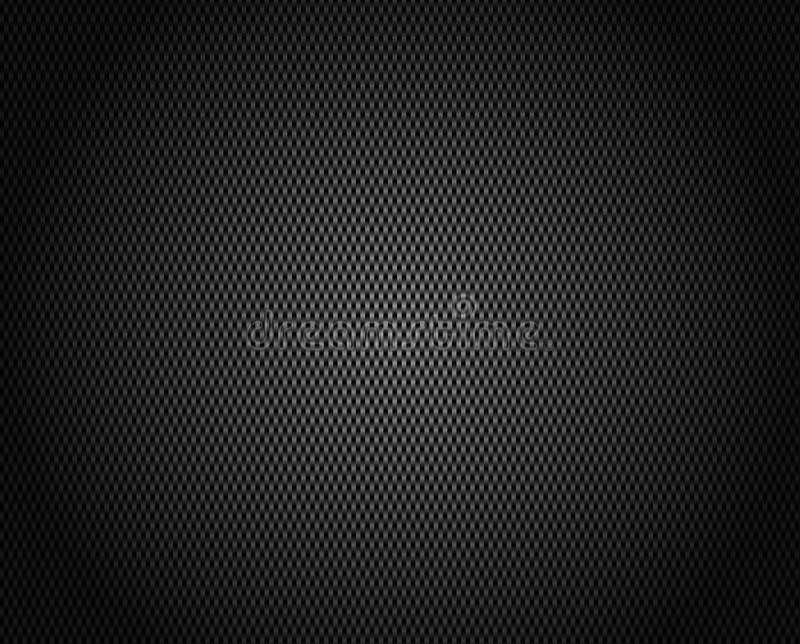 Carbon Fiber Vector Background stock illustration