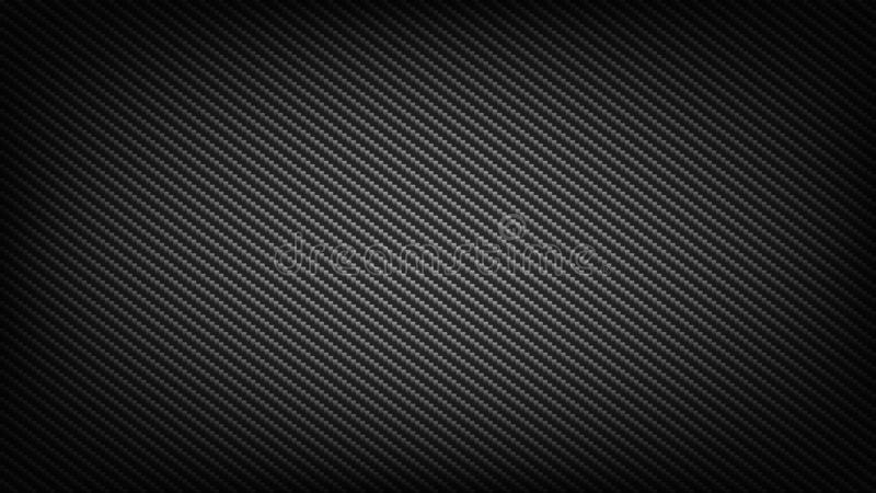 Carbon fibre backdrop. Carbon fiber wide screen background. Technological and science backdrop royalty free illustration