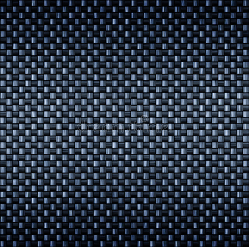 Carbon fibre fiber texture royalty free illustration