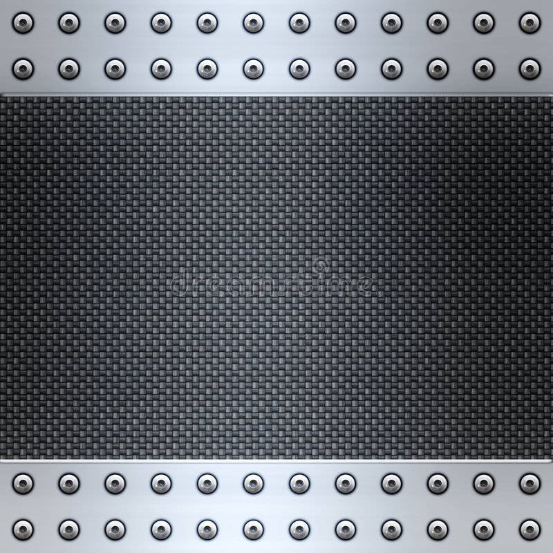 Download Carbon Fibre And Steel Background Stock Vector - Image: 8570970