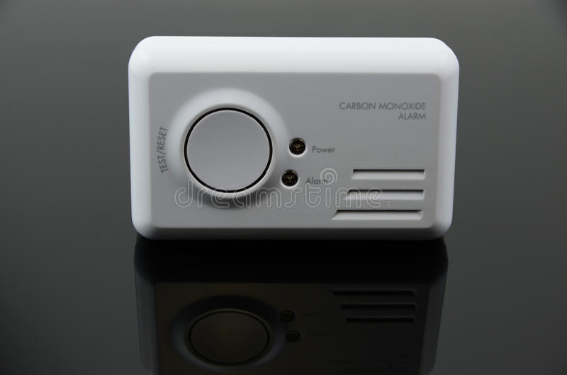 Carbon Monoxide Detector royalty free stock images